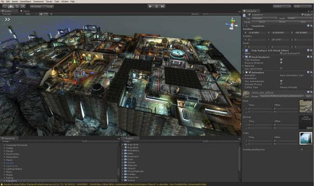học lập trình game 3D online
