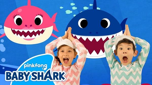 Baby shark bài hát gây sốt trên toàn thế giới