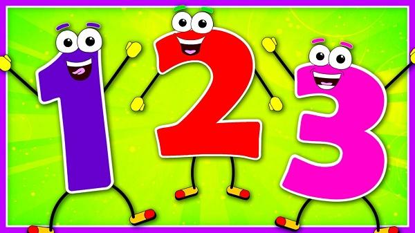 Ca khúc The Number Song hỗ trợ bé học đếm số bằng tiếng Anh