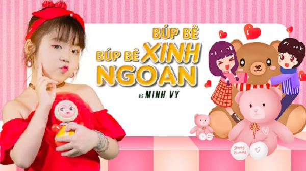 Búp bê xinh - Bé Minh Vy