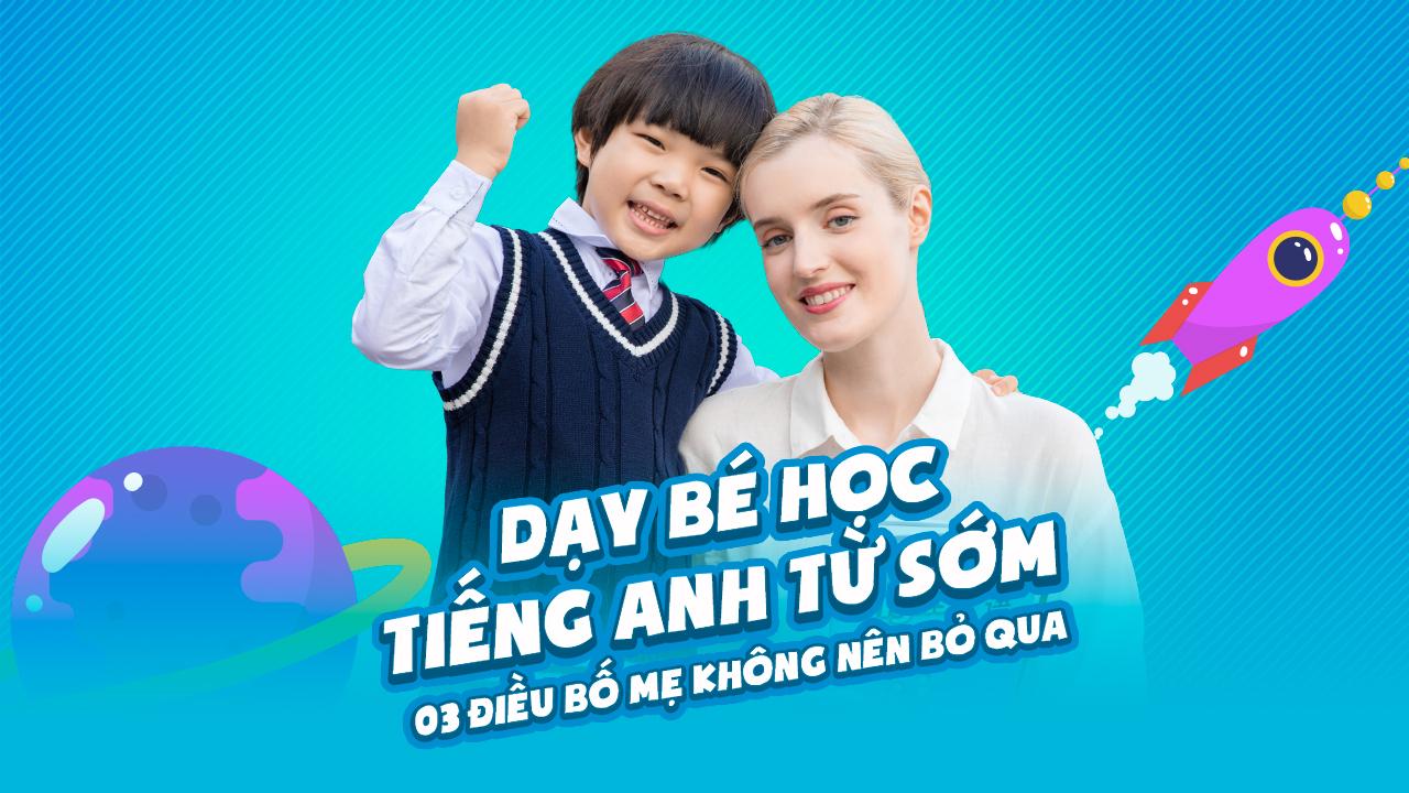 dạy bé học tiếng Anh