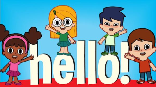 Bài hát Hello Song giúp bé biết chào hỏi bằng tiếng Anh