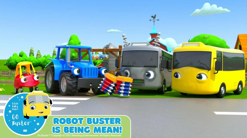 hoạt hình xe bus