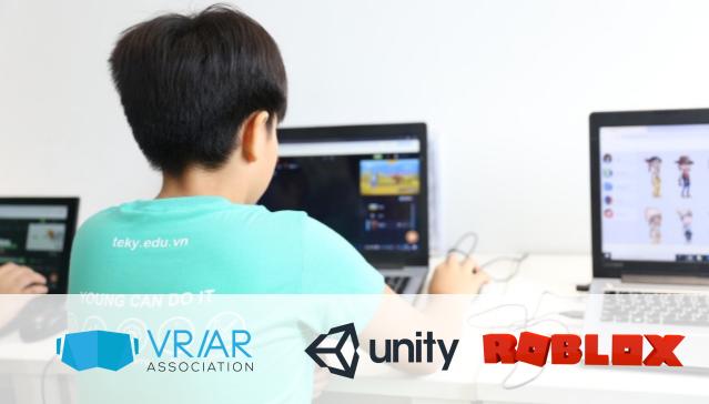 khóa học lập trình game cho trẻ em