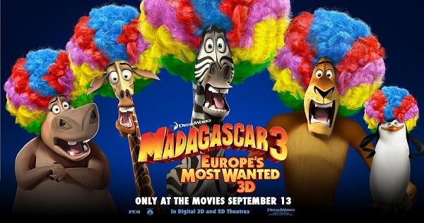 Bộ phim Madagascar 3: Europe's Most Wanted - Thần Tượng Châu  u