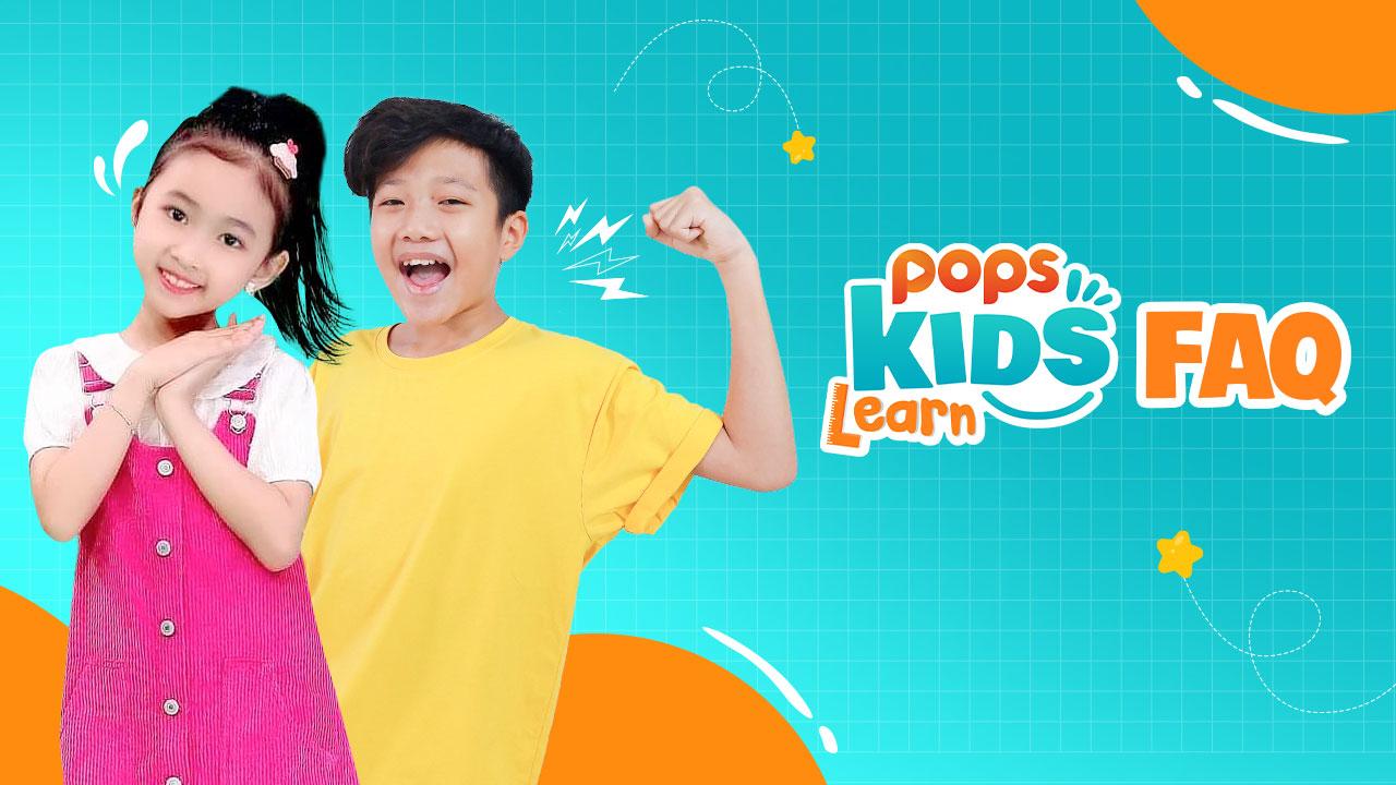 faq pops kids learn