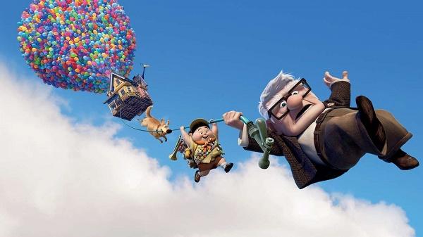 Phim hoạt hình Up mang đến cho khán giả nhiều cảm xúc