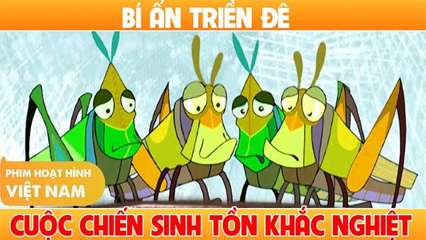 Bí ẩn triền đê là một bộ phim hoạt hình Việt Nam đáng xem