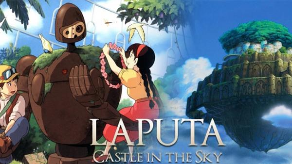 Castle In The Sky - Lâu Đài Trên Không là bộ phim đầu tiên mà Studio Ghibli sản xuất và phát hành