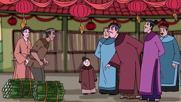 Những thước phim sinh động được thể hiện trong bộ phim hoạt hình cổ tích Cây Tre Trăm Đốt