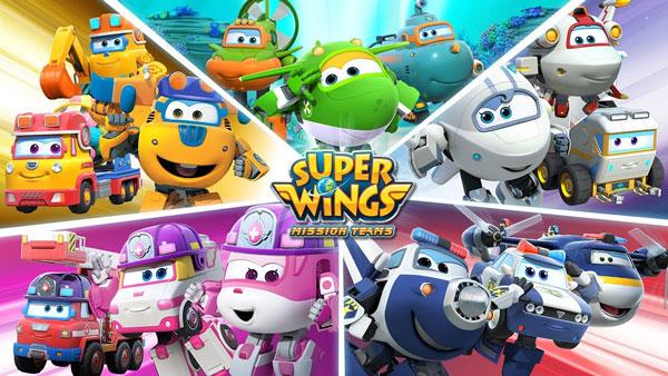 Tạo hình siêu đáng yêu trong Super Wings - Đội Bay Siêu Đẳng (2014)