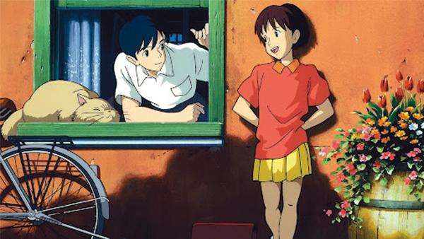 Một chuyện tình nhẹ nhàng lãng mạn trong phim Ghibli Lời thì thầm của trái tim