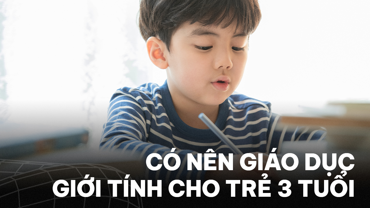 giáo dục giới tính cho trẻ