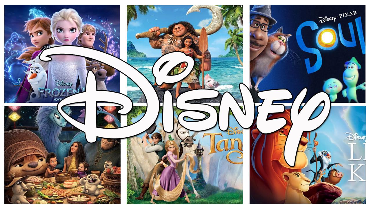 Top Các Bộ Phim Hoạt Hình Walt Disney Hay Nhất