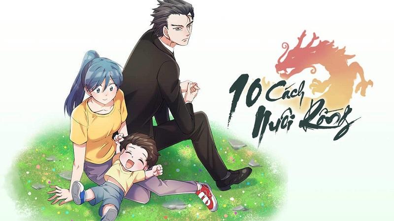 webtoon hàn 10 cách nuôi rồng
