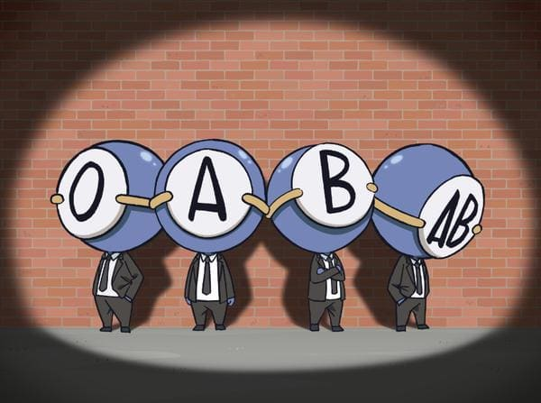 webtoon hay simple thinking about blood type