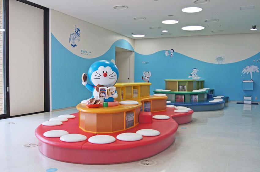Bảo tàng lấy mèo ú Doraemon làm hình tượng chủ đạo