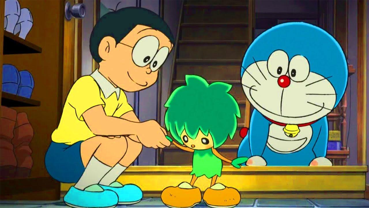 Doraemon tập dài nhất: Nobita và người khổng lồ xanh