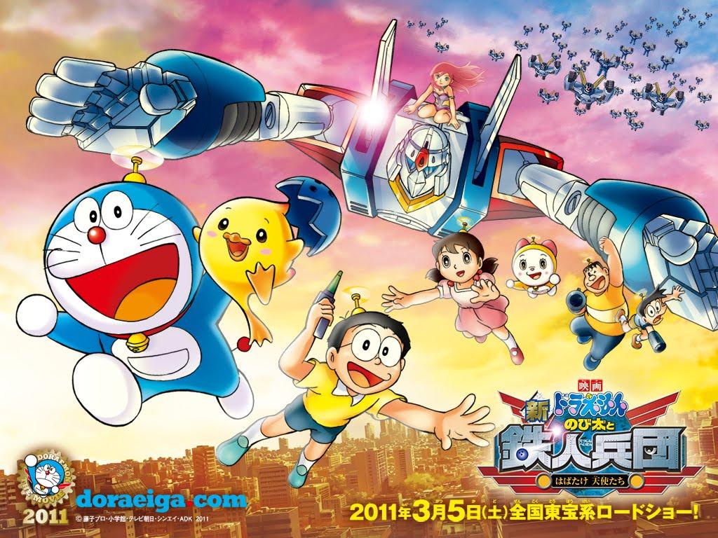 Doraemon tập dài siêu hay: Tân Nobita và binh đoàn người sắt