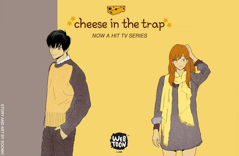 cheese in the trap line webtoon