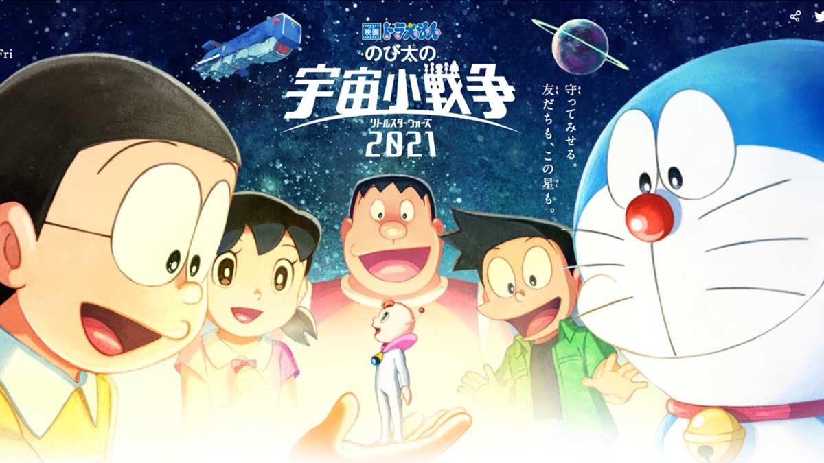 Phim hoạt hình Doraemon 2021 mới nhất
