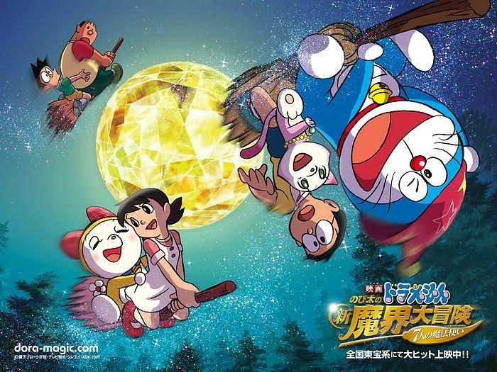 Tập dài nhất của Doraemon có thời lượng 112 phút