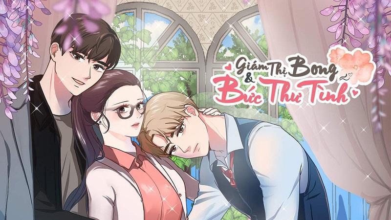 truyện webtoon giám thị bong và bức thư tình