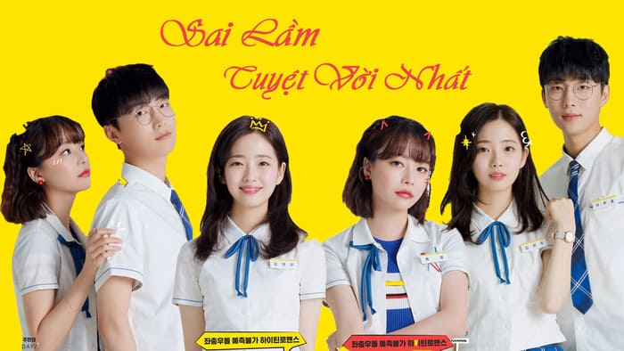 Top web drama Hàn học đường hay