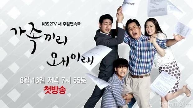 Phim gia đình Hàn Quốc lãng mạn